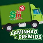 Promoção Caminhão de Prêmios - Aniversário 10 anos Supermarket